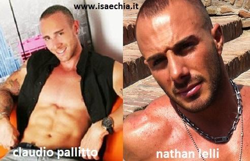 Somiglianza tra Claudio Pallitto e Nathan Lelli