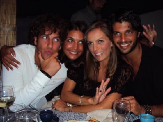 Valeria Bigella e Gianfranco Apicerni, Ilaria Natali e Pietro Titone