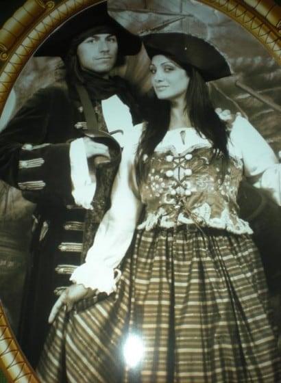 Marika Fruscio e il fidanzato