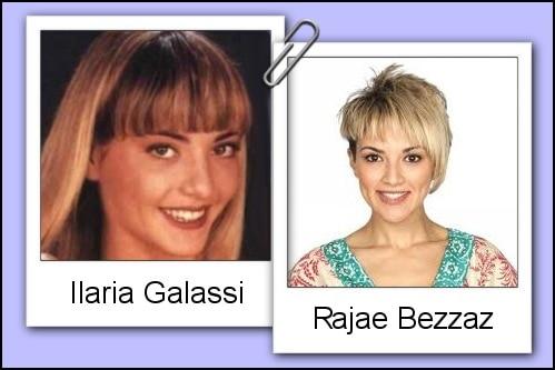 Somiglianza tra Ilaria Galassi e Rajae Bezzaz