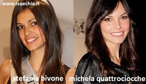 Stefania Bivone e Michela Quattrociocche