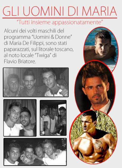 Marco Gaggini in discoteca con Mattia Vazzoler e Alessio Lo Passo