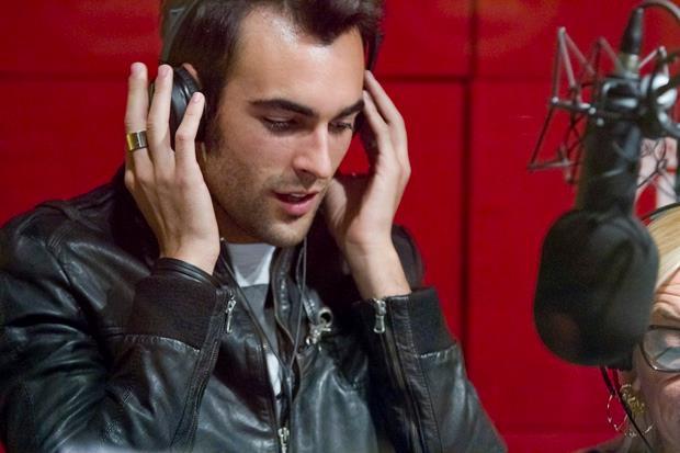 Marco Mengoni a Radio DJ