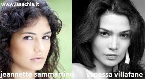 Somiglianza tra Jeannette Sammartino e Vanessa Villafane