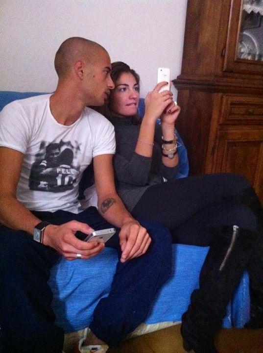Chiara Sammartino ed il fratello di Gabrio Gamma