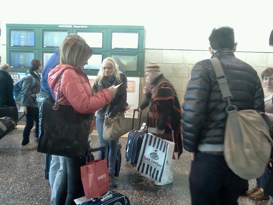 Guendalina Tavassi in partenza per L'isola dei famosi
