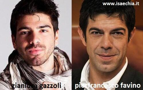 Somiglianza tra Gianluca Gazzoli e Pierfrancesco Favino
