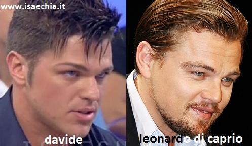 Somiglianza tra Davide del Trono under e Leonardo DiCaprio