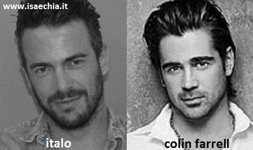 Somiglianza tra Italo Di Giovanni e Colin Farrell