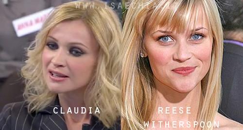 Somiglianza tra la dama Claudia e Reese Witherspoon