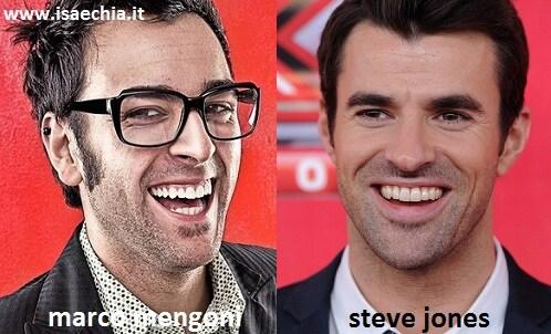 Somiglianza tra Marco Mengoni e Steve Jones