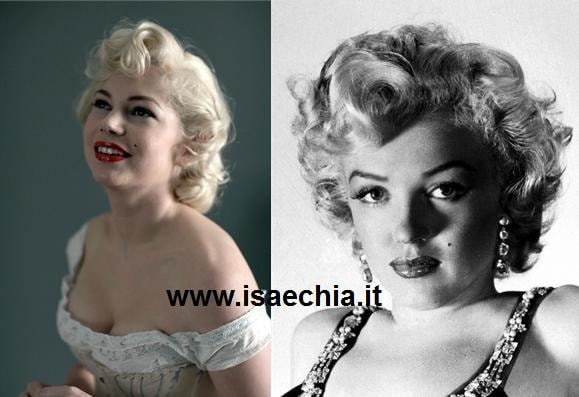 Michelle Williams e Marilyn Monroe