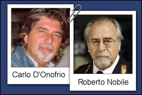Somiglianza tra Carlo D'Onofrio e Roberto Nobile