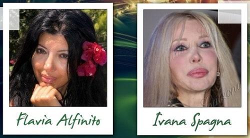 Somiglianza tra Flavia Alfinito e Ivana Spagna