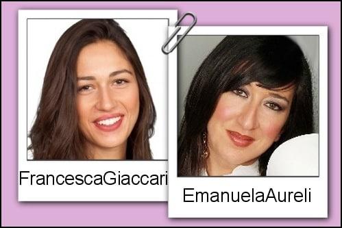 Somiglianza tra Francesca Giaccari ed Emanuela Aureli