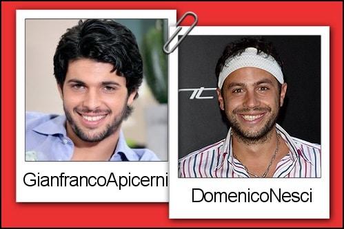 Somiglianza tra Gianfranco Apicerni e Domenico Nesci
