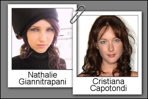 Somiglianza tra Nathalie Giannitrapani e Cristiana Capotondi