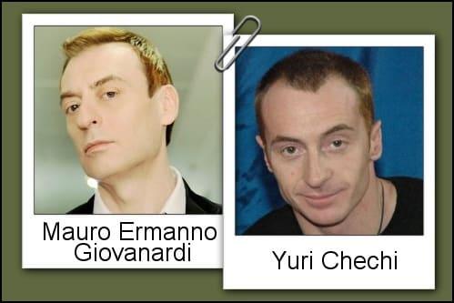 Somiglianza tra Yuri Chechi e Mauro Ermanno Giovanardi