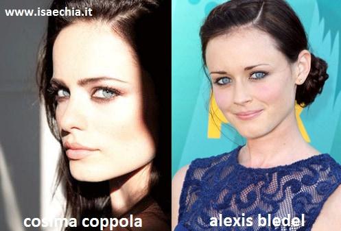 Somiglianza tra Cosima Coppola e Alexis Bledel