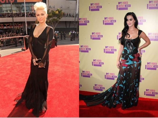Miley Crus e Katie Perry