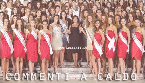 Miss Italia 2012: commenti a caldo
