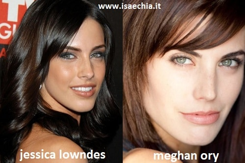 Somiglianza tra Jessica Lowndes e Meghan Ory