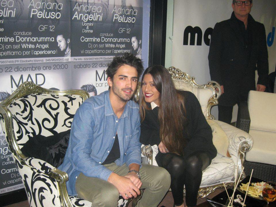 Adriana Peluso ed Andrea Angelini