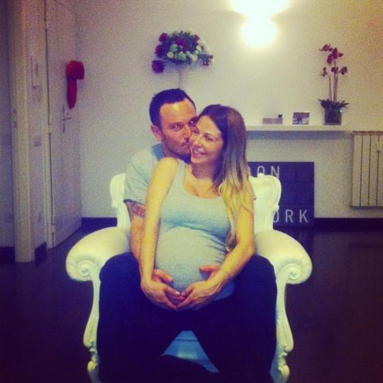 76b7dc1678 Sabrina Ghio è diventata mamma: è nata Penelope | Isa e Chia