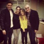 Cecilia Rodriguez, Angelo e Stefano Monte e Valentina Scognamiglio