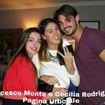 Francesco Monte, Cecilia Rodriguez ed Adelaide De Martino