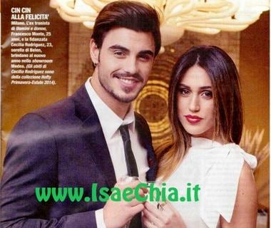 Francesco Monte e Cecilia Rodriguez: