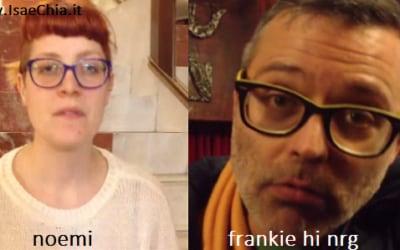 Somiglianza tra Noemi e Frankie Hi Nrg