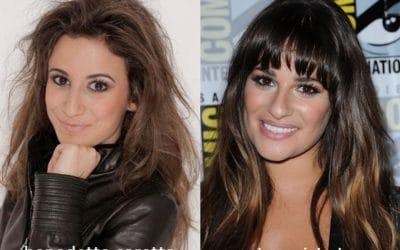 Somiglianza tra Benedetta Caretta e Lea Michele