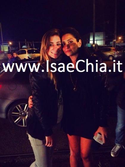 Francesca Cioffi con una fan
