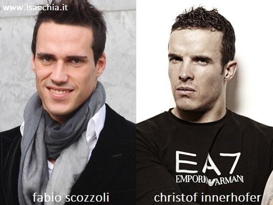 Somiglianza tra Fabio Scozzoli e Christof Innerhofer
