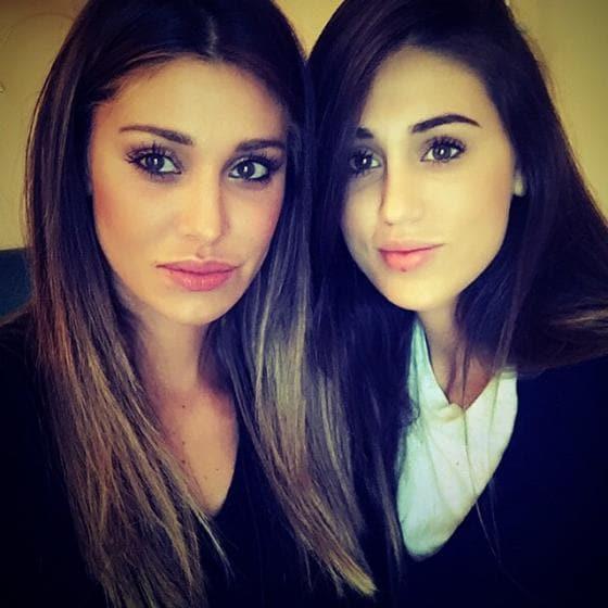 Belen Rodriguez e Cecilia Rodriguez