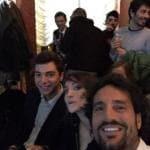 Luca Betti, Sofia Odescalchi, Uberto Marchesi