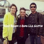 Jonás Berami e Rama Lila Giustini