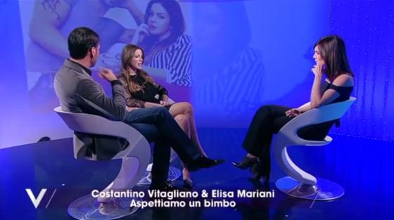 Costantino Vitagliano Elisa Mariani e Silvia Toffanin