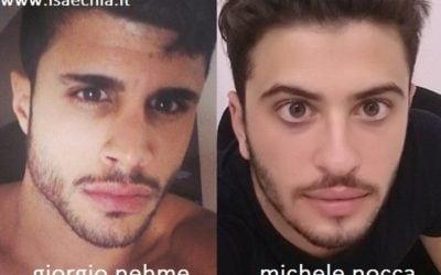 Somiglianza tra Giorgio Nehme e Michele Nocca