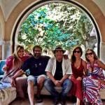 Romina Power, Naike Rivelli, Ornella Muti, Albano Carrisi e Yari Carrisi