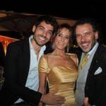 Amedeo Barbato al compleanno di Turchese Baracchi
