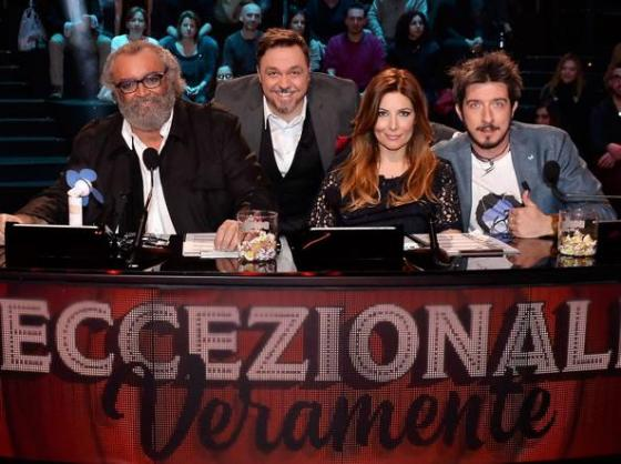 Diego Abatantuono, Gabriele Cirilli, Selvaggia Lucarelli e Paolo Ruffini