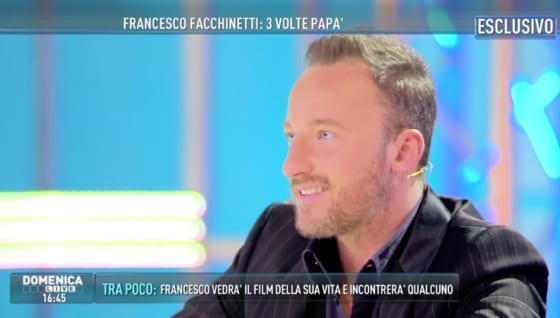 Domenica Live - Francesco Facchinetti