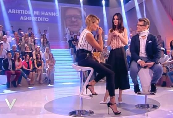 Verissimo - Simona Ventura, Aristide Malnati e Silvia Toffanin