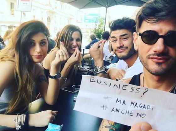 Laura Frenna, Cecilia Zagarrigo, Alessandro Basile e Lorenzo Riccardi