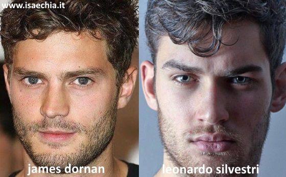 Somiglianza tra Leonardo Silvestri e Jamie Dornan