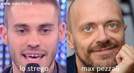 Somiglianza tra Lo Strego e Max Pezzali