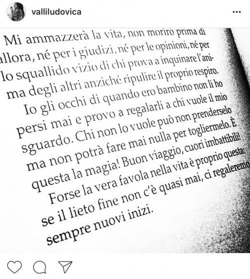Ludovica Valli Su Instagram Ma Innamorata Di Chi Non Fatevi