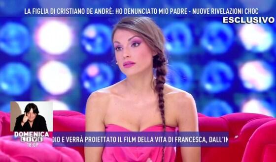 Domenica Live - Francesca De Andrè